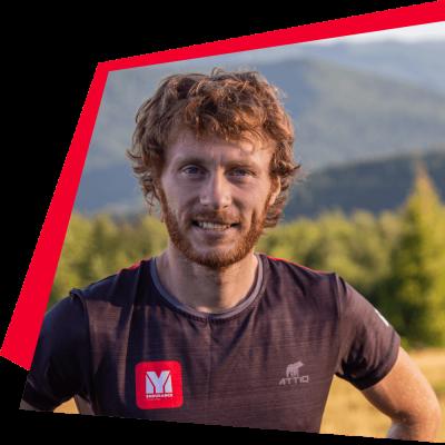 trener  biegania Jarek Czuba
