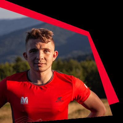 trener biegania Kacper Kościelniak
